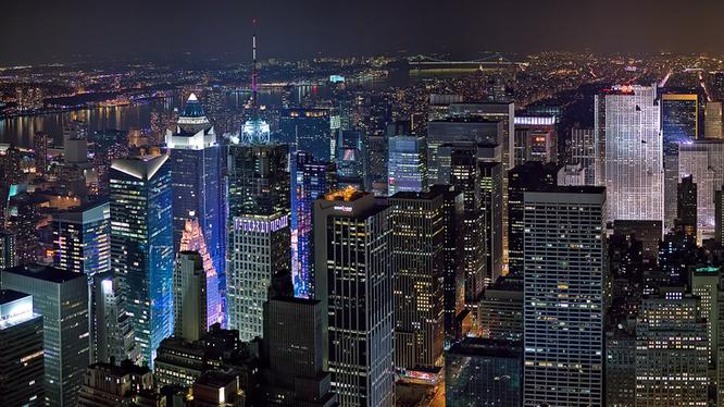 Thành phố New York đứng ở vị trí thứ 2 trong bảng xếp hạng của Hurun năm 2016 về số lượng tỉ phú