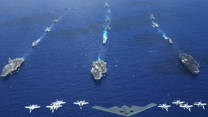 Mỹ và các nước đồng minh đang bao vây Trung Quốc?