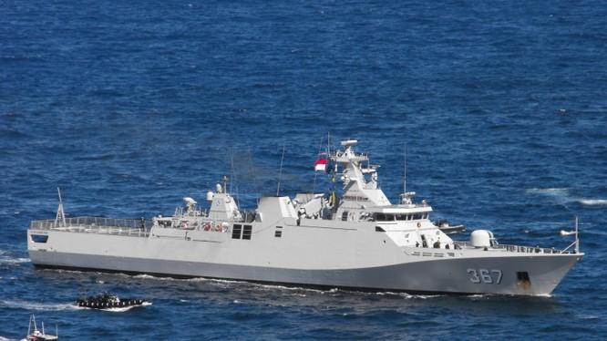 Tàu chấp pháp Indonesia hoạt động gần quần đảo Natuna