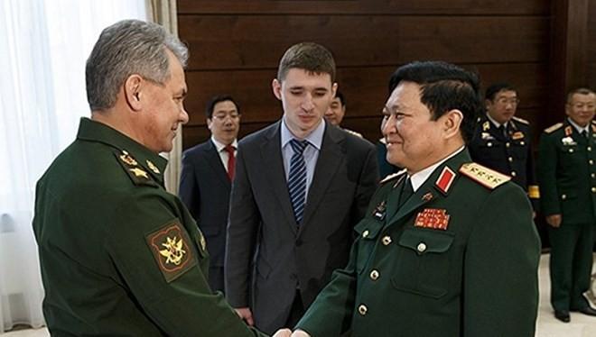 Đại tướng, Bộ trưởng Quốc phòng Việt Nam Ngô Xuân Lịch vừa thăm Nga