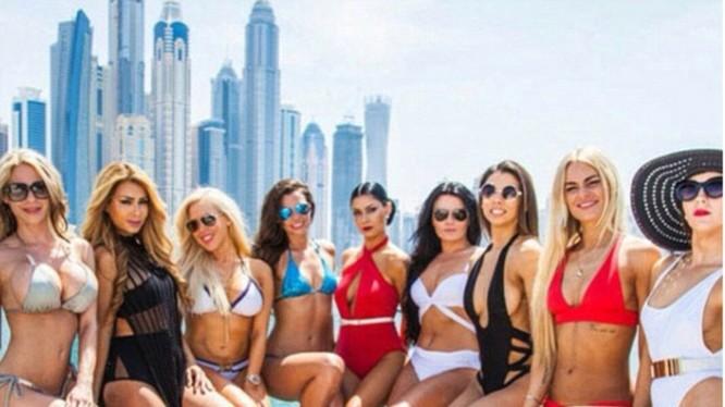 Các cô chiêu Dubai