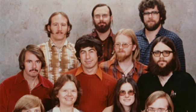 11 nhân viên đầu tiên của Microsoft. (Ảnh: Microsoft)