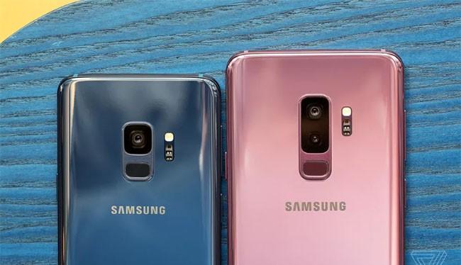 Bộ đôi Galaxy S9/S9+ (The Verge)