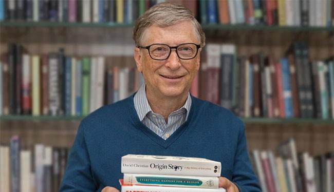 Bill Gates là một người rất thích đọc sách
