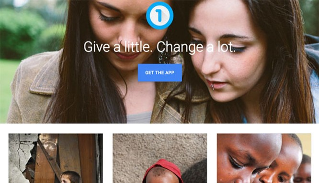 Một dịch vụ tìm kiếm các tổ chức từ thiện của Google (theo Business Insider)