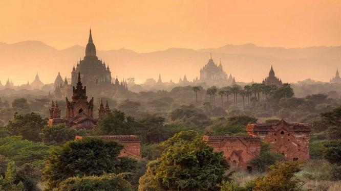 Thánh địa Bagan của Myanmar vừa được UNESCO công nhận là di sản thế giới. Nguồn: Chanel News Asia