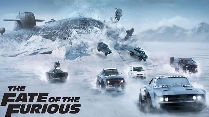 Một cảnh trong phim 'Fast & Furious 9'