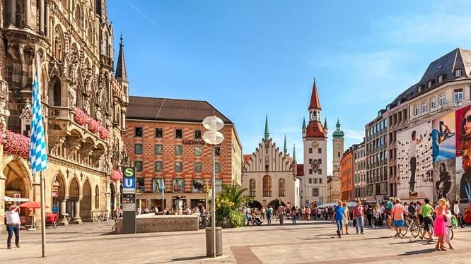 Munich là một trong những điểm du lịch đáng ghé thăm của Đức. Ảnh: Channel News Asia