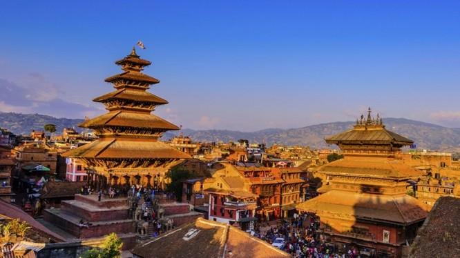 Khám phá vẻ đẹp văn hóa Nepal qua lễ hội Bagh Bhairav. Ảnh: Xinhua