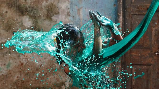 Lễ hội Holi ở Ấn Độ. Nguồn: Shailesh Andrade/Reuters