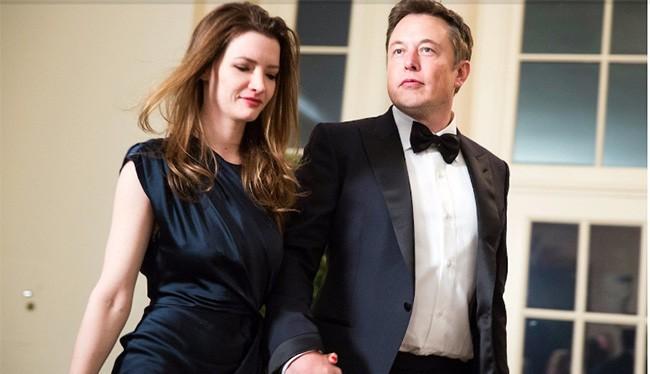 Elon Musk và vợ cũ Talulah Riley. Nguồn: Business Insider