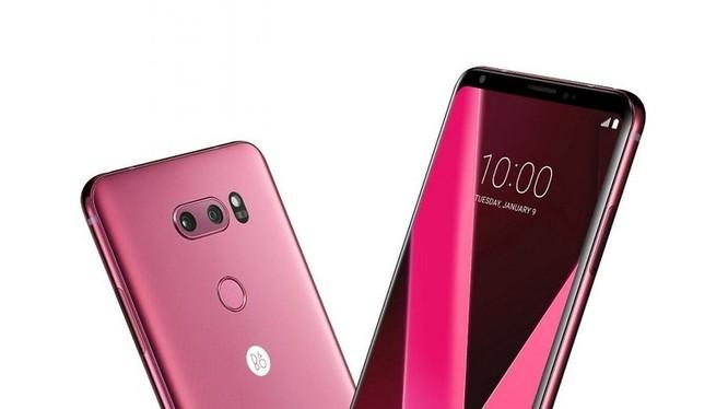 LG V30 Raspberry Rose (ảnh: Androidpit)