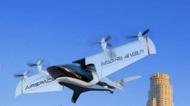 Taxi bay tự động MOBi-ONE (Nguồn: Futurism)
