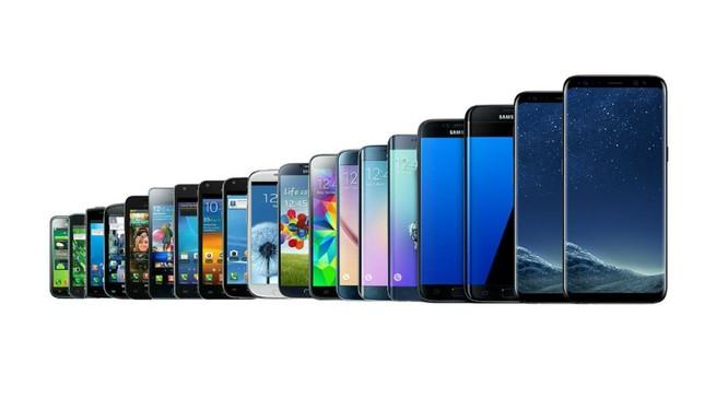 Lịch sử của Galaxy S. Nguồn: Cnet