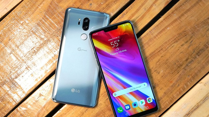 LG G7 ThinQ. Nguồn: CNET