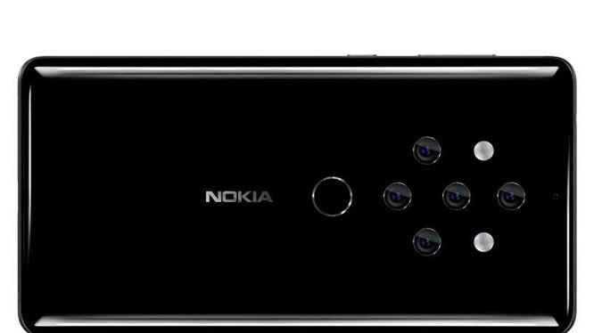 """""""Quái vật 5 mắt"""" mới của Nokia. Nguồn ảnh: Tech Viral"""