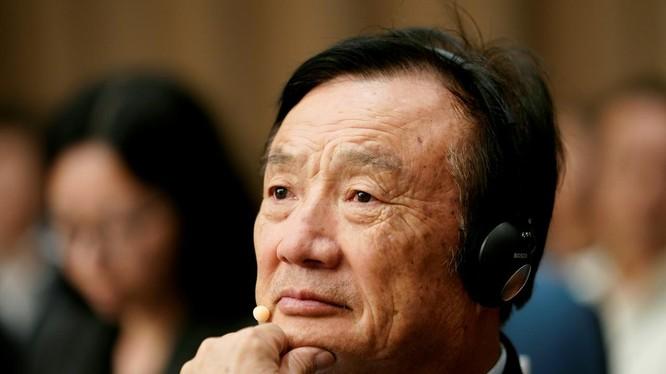 Nhậm Chính Phi, nhà sáng lập kiêm Giám đốc điều hành của Huawei. Ảnh: Reuters