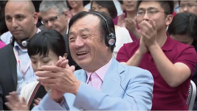 Nhà sáng lập, CEO Huawei, NhậmChính Phi. Ảnh: Mobile Syrup