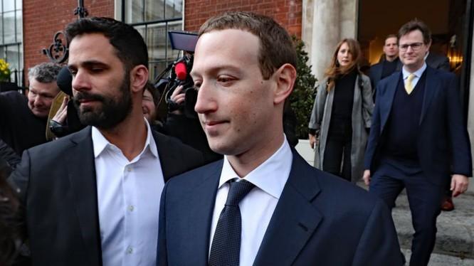Giám đốc điều hành Facebook Mark Zuckerberg. Ảnh: Business Insider