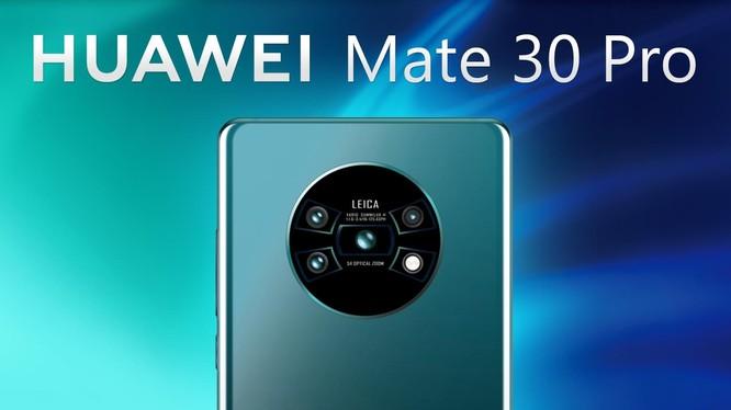 Theo tin đồn, Mate 30 Pro của Huawei sẽ được trang bị ống kính điện ảnh Cine lens. Ảnh: Gizchina