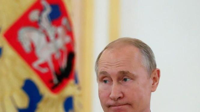 Tổng thống Nga Vladimir Putin. Ảnh: PressFrom