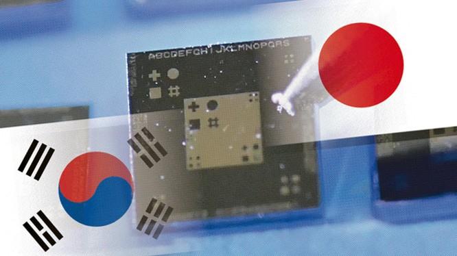 Ngành công nghiệp sản xuất chip của Hàn Quốc phụ thuộc vào việc nhập khẩu nguyên liệu sản xuất từ Nhật Bản, Seoul đang muốn thay đổi điều đó. Ảnh: Nikkei Asian Review