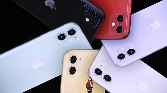 Kaiann Drance, Giám đốc Tiếp thị sản phẩm cho iPhone của Apple phát biểu tại sự kiện ra mắt iPhone 11 vào ngày 10/9. Ảnh: CNBC