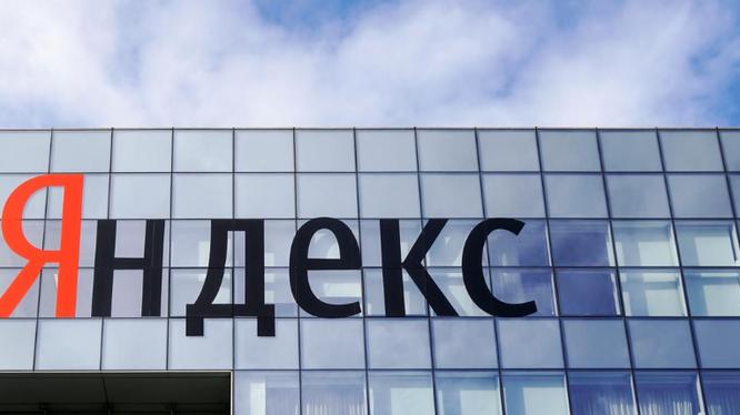 Logo của tập đoàn internet Yandex (Nga). Ảnh: Reuters