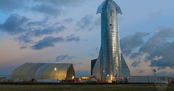Nguyên mẫu tên lửa Starship của SpaceX. Ảnh: Geekys