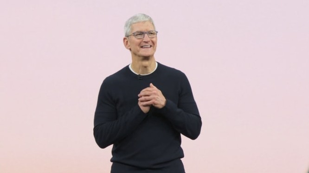 CEO Apple Tim Cook. Ảnh: CNBC