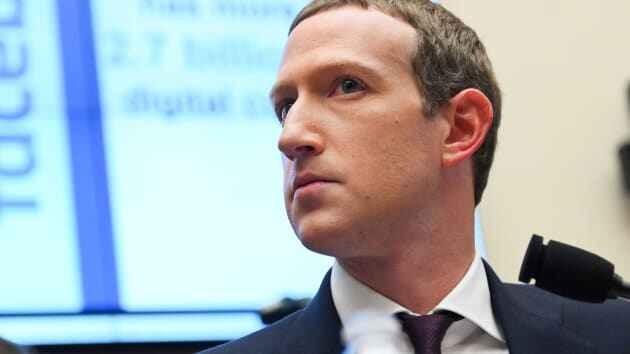 CEO Facebook Mark Zuckerberg. Ảnh: CNBC