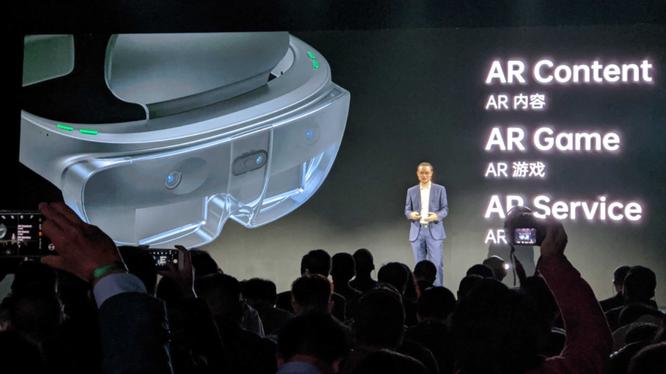 Tại Hội nghị OPPO Inno Day 2019, Oppo đã công bố kính AR đầu tiên do hãng sản xuất. Ảnh: Gizchina