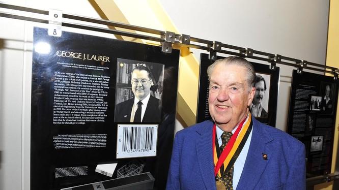 Ông George Laurer vào năm 2011 tại Hội trường Innovation Hall của Đại học Maryland. Ảnh: NY Times