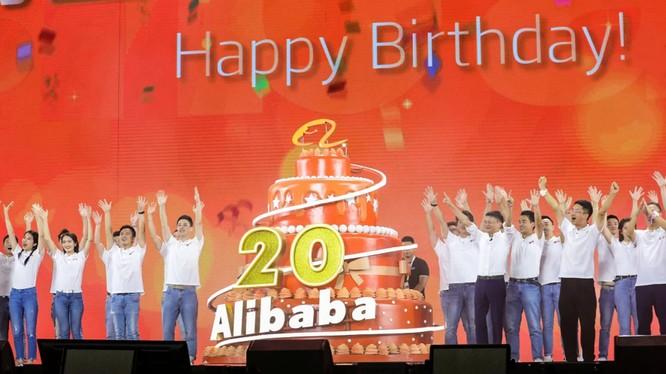 Vốn hóa thị trường của Alibaba đã tăng lên tới 570 tỷ đô la vào năm 2019 tính đến ngày 20 tháng 12 đưa công ty này trở thành công ty có giá trị thị trường lớn nhất châu Á. Ảnh: Nikkei Asian Review