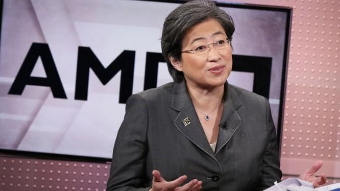Lisa Su, CEO AMD. Ảnh: CNBC