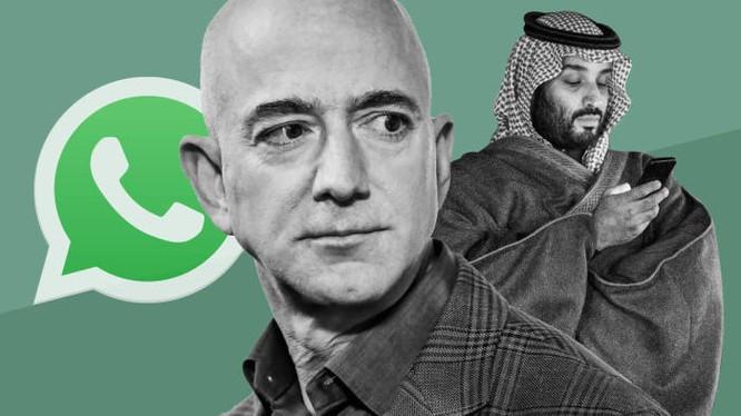 Mối quan hệ giữa tỷ phú Jeff Bezos và Hoàng tử Ả Rập Saudi Mohammed bin Salman trở nên xấu đi sau vụ nhà báo Jamal Khashoggi của tờ Washington Post mà ông Bezos là chủ sở hữu bị sát hại. Ảnh: FT