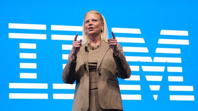 Bà Ginni Rometty, CEO IBM sắp nghỉ hưu. Ảnh: Engadget