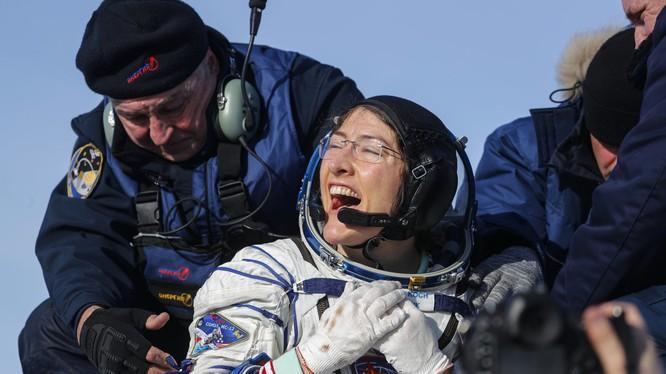 Nữ phi hành gia Christina Koch. Ảnh: Engadget