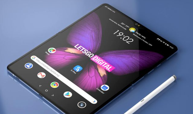 Một số nguồn tin cho rằng Fold 2 của Samsung sẽ hỗ trợ bút S Pen mới. Ảnh: LOS40