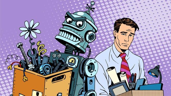 Trí tuệ nhân tạo sẽ thay thế con người? Nguồn ảnh: Raconteur