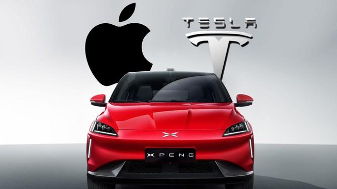 Apple có thể đánh bại Tesla về mảng xe tự lái? (ảnh: Detroit News)