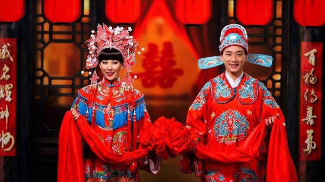 Hôn nhân ở Trung Quốc. Ảnh: Times