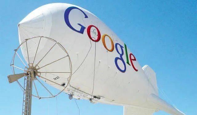 Dự án tham vọng của Google - Project Loon. Ảnh: Sohu