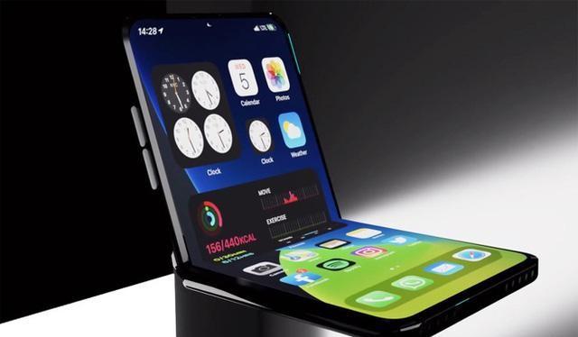 Apple sẽ hợp tác với LG để làm iPhone màn hình gập. Ảnh: Sohu