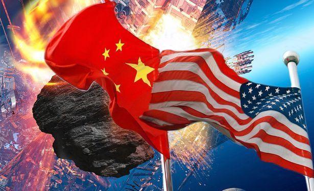 Cuộc chiến trên nhiều lĩnh vực giữa Hoa Kỳ và Trung Quốc. Ảnh: The Mirror