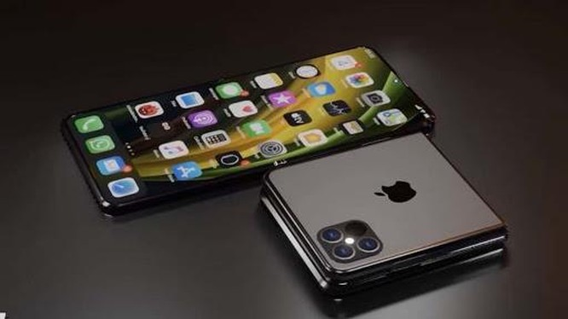 Apple thử nghiệm thiết kế cho iPhone màn hình gập. Ảnh: Onemachi