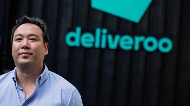 CEO Will Shu của Deliveroo. Ảnh: CNBC