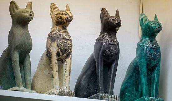 Đối với người Ai Cập cổ đại, mèo là một trong những sinh vật linh thiêng.