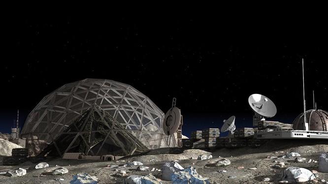 Nhiều quốc gia trên thế giới đang âm thầm triển khai các kế hoạch khai thác Helium-3 từ Mặt Trăng. Ảnh: Johnson Search Group