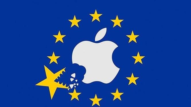 Apple vướng vào vụ kiện chống độc quyền với EU.